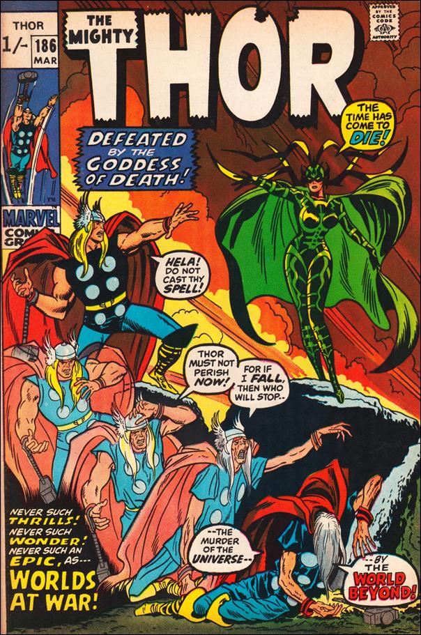 Thor (1966) 186-B by Marvel