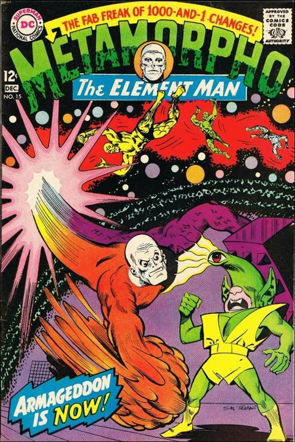 Metamorpho (1965) 15-A by DC