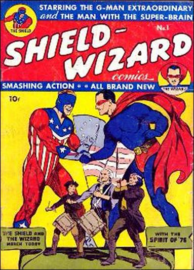 Shield-Wizard Comics 1-A by Archie
