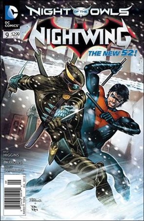 Nightwing (2011) 9-A