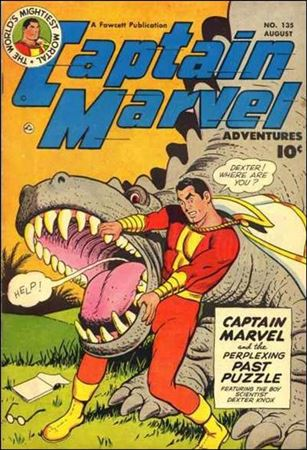 Captain Marvel Adventures 135-A
