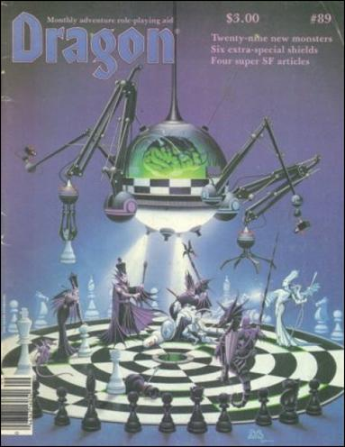 Dragon Magazine 89-A by Wizards of the Coast