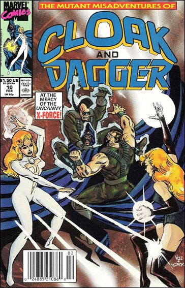 Mutant Misadventures of Cloak and Dagger 10-A by Marvel