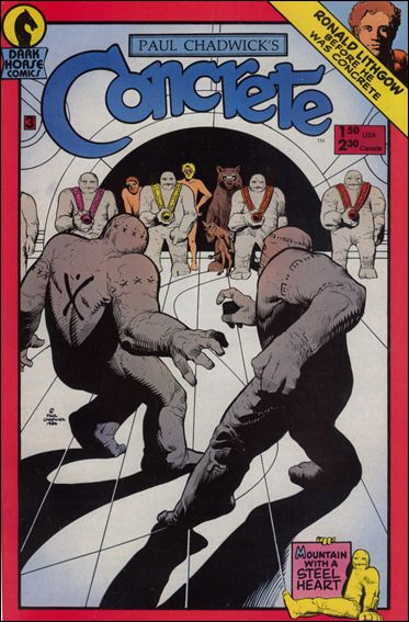 Concrete 3-A by Dark Horse