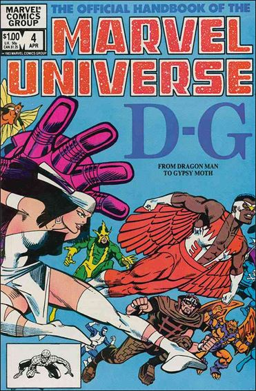 Official Handbook of the Marvel Universe (1983) 4-A by Marvel