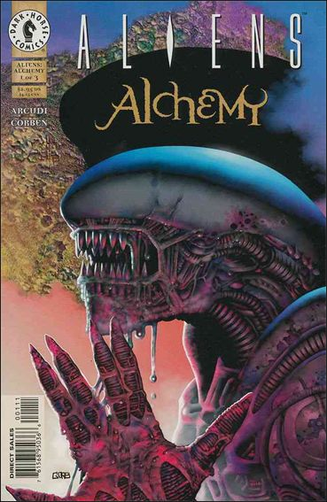 Aliens: Alchemy 1-A by Dark Horse