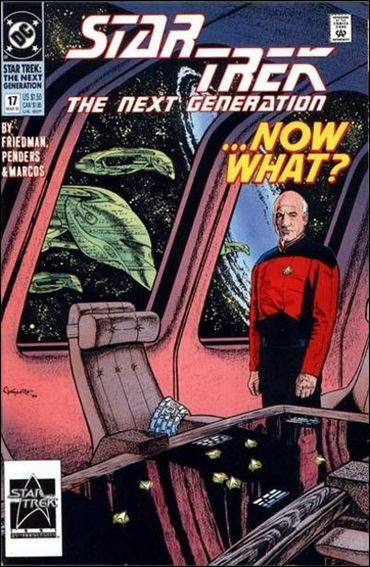 Star Trek: The Next Generation (1989) 17-A by DC