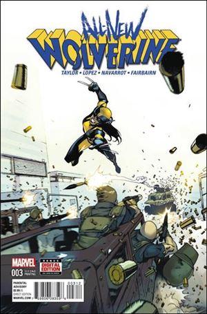 All-New Wolverine  3-E