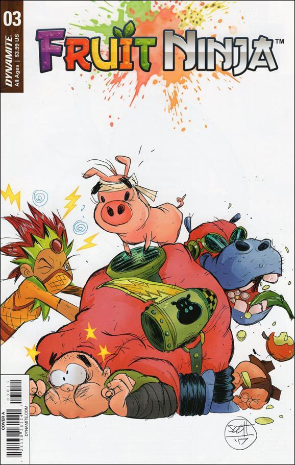 Fruit Ninja 3-A by Dynamite Entertainment