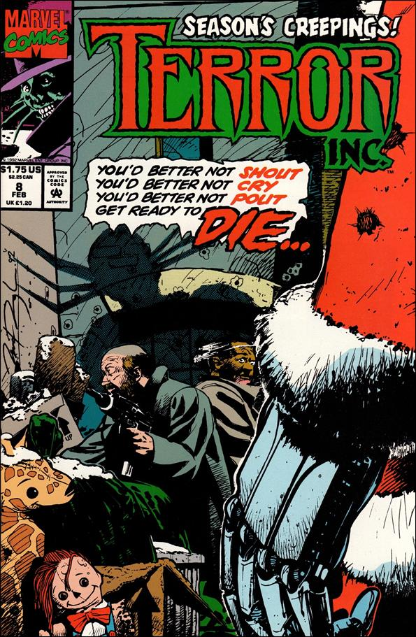 Terror, Inc. (1993) 8-A by Marvel