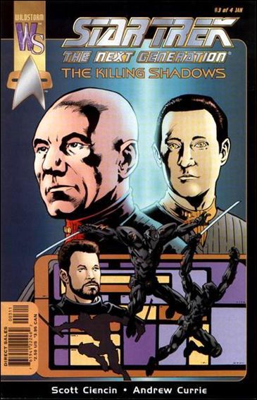 Star Trek: The Next Generation—The Killing Shadows 3-A by WildStorm