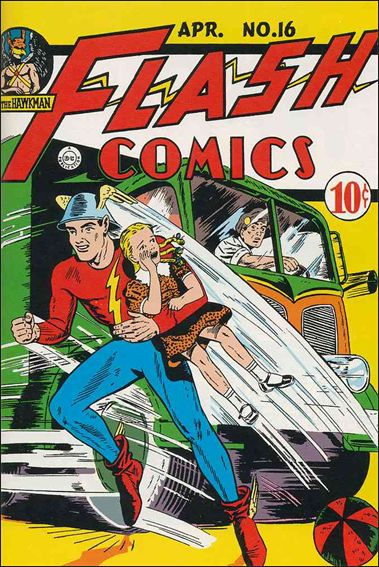 Flash Comics (1939) 16-A by DC