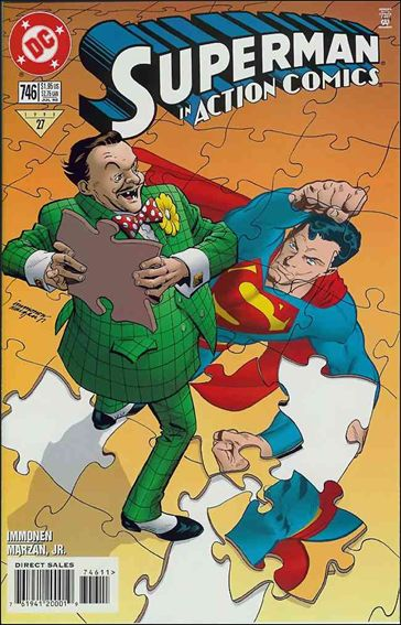Action Comics (1938) 746-A by DC