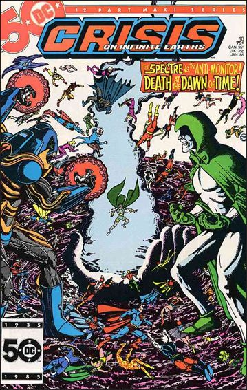 Crisis on Infinite Earths 10-A by DC