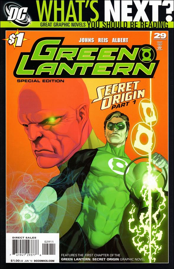 Green Lantern (2005) 29-B by DC