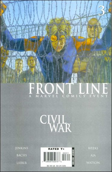 Civil War: Front Line 3-A by Marvel