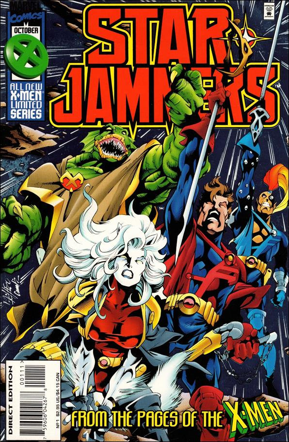 Starjammers (1995) 1-A by Marvel