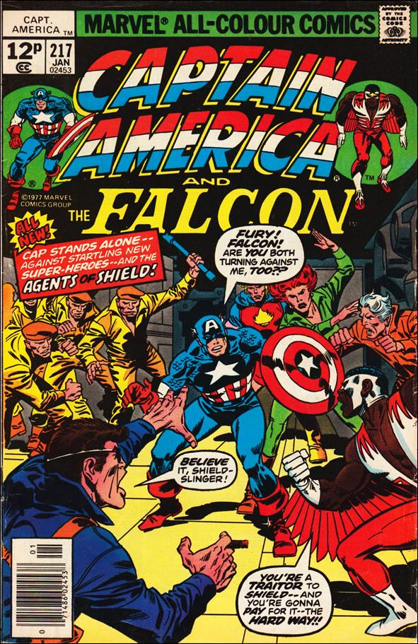 Captain America (1968) 217-B by Marvel