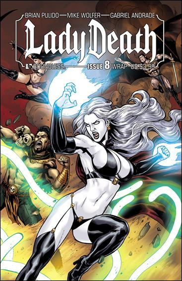 Lady Death (2010) 8-B by Boundless Comics