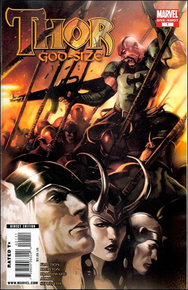 Thor God-Size Special 1-A by Marvel