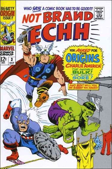 Not Brand Echh 3-A by Marvel