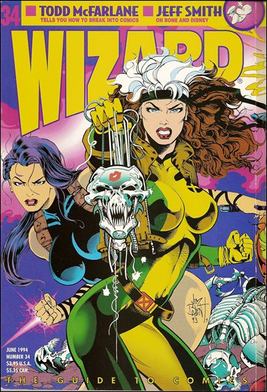 Wizard: The Guide to Comics 34-B by Wizard Press