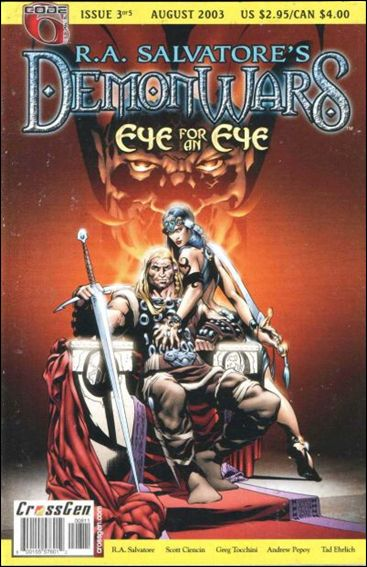 R.A. Salvatore's DemonWars: Eye for an Eye 3-A by CrossGen