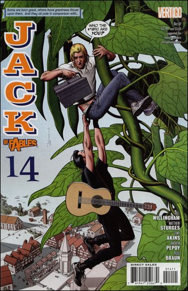 Jack of Fables 14-A by Vertigo