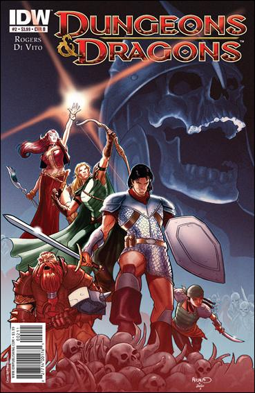Dungeons & Dragons (2010) 2-B by IDW