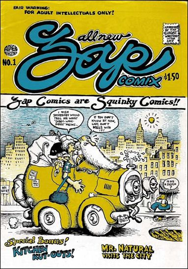 Zap Comix 1-G by Last Gasp