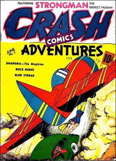 Crash Comics 2-A by Tem Publishing