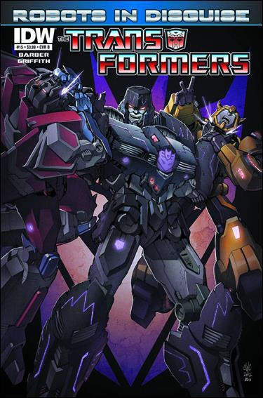 Transformers: Robots in Disguise 15-B by IDW