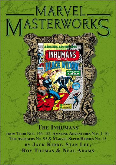 Marvel Masterworks: The Inhumans 1-B by Marvel