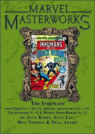 Marvel Masterworks: The Inhumans 1-B