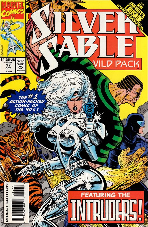 Silver Sable & The Wild Pack 17-A by Marvel
