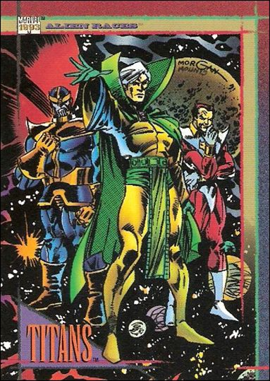Marvel Universe: Series 4 (Base Set) 120-A by SkyBox