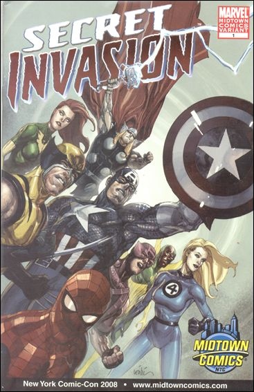 Secret Invasion 1-G by Marvel