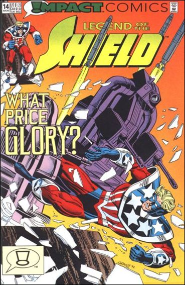 Legend of the Shield 14-A by Impact Comics
