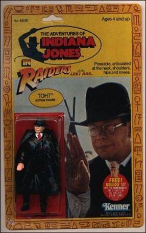Adventures of Indiana Jones Toht (4-back/Belloq Mail-Away Offer)