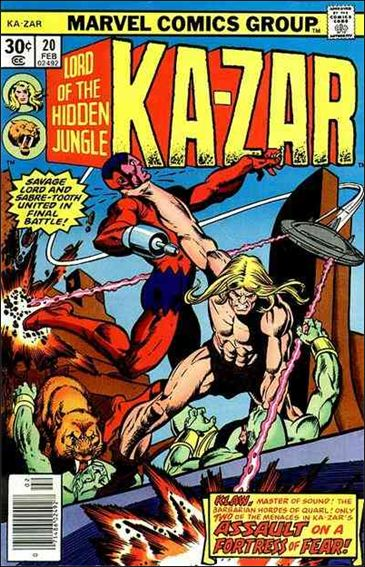 Ka-Zar (1974) 20-A by Marvel