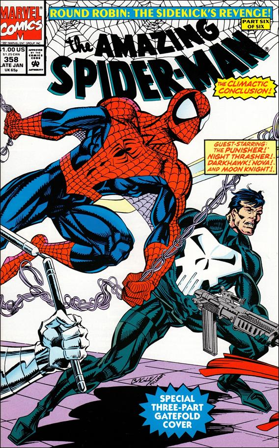 Amazing Spider-Man (1963) 358-A by Marvel