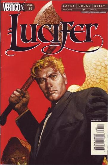 Lucifer (2000) 35-A by Vertigo