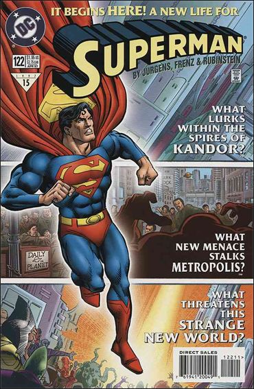 Superman (1987) 122-A by DC