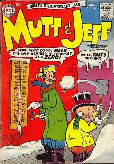 Mutt & Jeff 100-A by DC