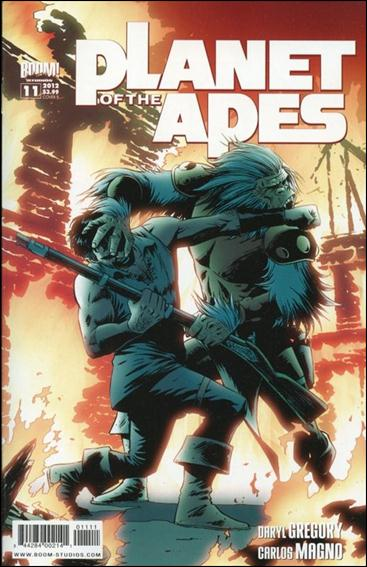 Planet of the Apes (2011) 11-B by Boom! Studios
