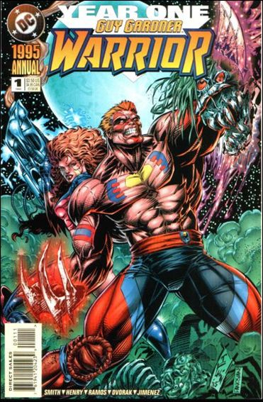 Guy Gardner: Warrior Annual 1-A by DC