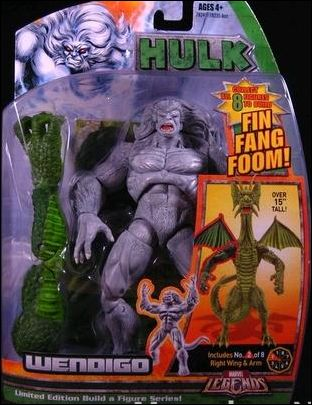 Marvel Legends: Hulk (Fin Fang Foom Series) Wendigo by Hasbro