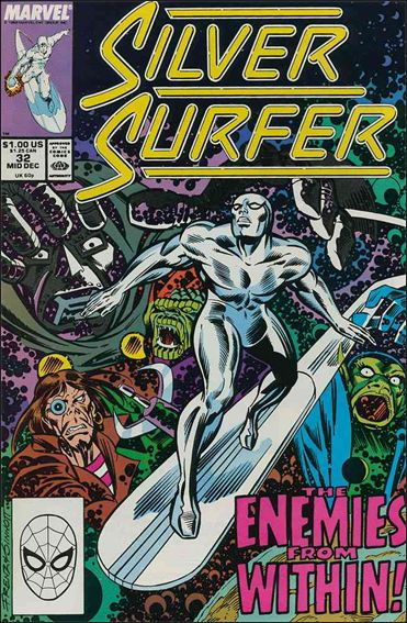 Silver Surfer (1987) 32-A by Marvel
