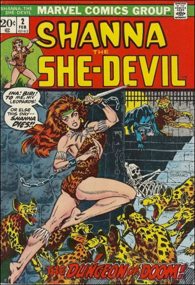 Shanna the She-Devil (1972) 2-A by Marvel