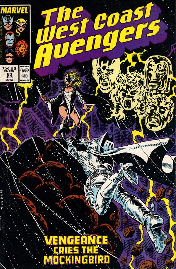 West Coast Avengers (1985) 23-A by Marvel